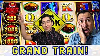 ⋆ Slots ⋆ We landed the GRAND Train ⋆ Slots ⋆ Luxury Line Cash Express