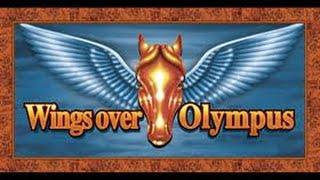 *TBT* Wings over Olympus - Aristocrat Slot Bonus Win with Retrigger