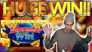 Explodiac Big win - HUGE WIN on casino game from Gamomat