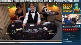 BIG WIN!? Blackjack Session - Casino - Table games - Online Blackjack - High limit
