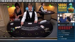 BIG WIN!? Blackjack Session - Casino - Table games - Online Blackjack - High limit