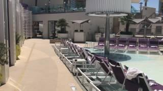 Pool Video Tour of the Cosmopolitan Vegas Boulevard Pool Deck. Cosmopolitan Hotel on the Vegas Strip
