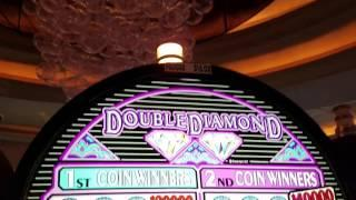 """*HAND PAY* DOUBLE DIAMOND"""" JFK SHOULD'VE """"MAXED """" THE BET!!! BUT ITS OK. STILL """"FLIPPIN N DIPPIN """""""
