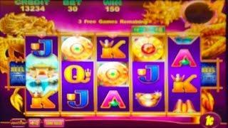 Aristocrat's Imperial House Slot Machine - 3 Bonuses (Dragon Lady's Machine)