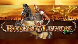 MEGA BIG WIN on Roman Legion XTREME Slot (Bally Wulff) - 1€ BET!