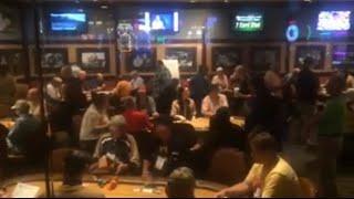 LIVE Poker Tournament at Binions Horseshoe Downtown Las Vegas