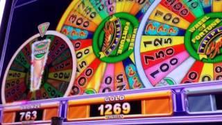 Wheel Of Fortune Triple Spin Bonus At Max Bet