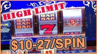 • $10-27/Spin•HIGH LIMIT • VEGAS SLOTS • • Slot Fruit Machine Pokies w Brian Christopher
