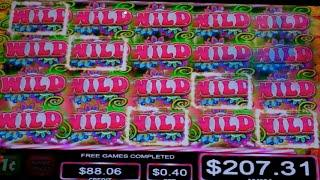 Sweet Skulls Slot Machine Bonus - 12 Free Games with Stacked Wilds - SUPER BIG WIN (#2)