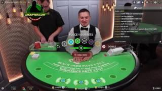 Malaysia Online Live Casino Blackjack Dealer Suggests I Bet LESS! By Regal88