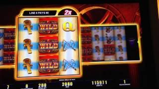 Lady Of Egypt Bonus At Max Bet