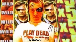 **AMAZING LUCK** THE WALKING DEAD 2 slot machine LIVE PLAY- APOCALYPTIC MEGA  BIG WINS (7 videos)