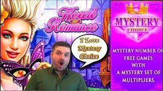 I • Mystery Pick! Heart of Romance Slot Machine Live Play and Bonuses