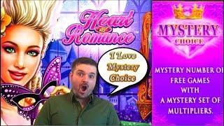 I • Mystery Pick! Heart of Romance Slot Machine Live Play and Bonuses