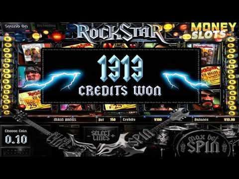 RockStar Video Slots Review | MoneySlots.net