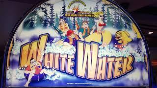 White Water Slot Bonus Free Spins with Retriggers on Brian of Denver Slots