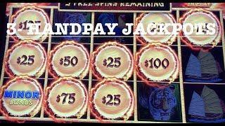 DRAGON LINK PANDA MAGIC ~ (3) HANDPAY JACKPOTS