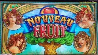New Slot Machine - NOUVEAU FRUIT Slot, [New Sparkling Roses Slot] [KONAMI] [Max Bet] [スロット女子] カジノ