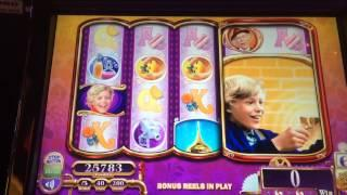 Willy Wonka Slot Machine Bonus Giant Charlie Spins