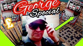 Scratchcard George.....Bonus video....mmmmmmMMM. mmmmmmMMM..says •