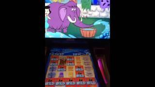 The Flinstones slot machine bonus