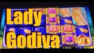 Lady Godiva Slot Machine Bonus! ~ WMS (Lady Godiva)