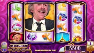 Willy Wonka And The Chocolate Factory™ Grandpa Joe Free Spin Bonus, Slot Machines By WMS Gaming