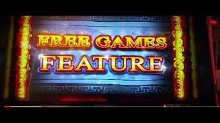 GOOD win $4 Max Bet Ainsworth Pokie slot machine Action Dragons lots of spins!