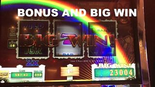 Wizard of Oz Road to Emerald City BONUS and BIG WIN Live Play Slot Machine