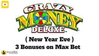 ( New Year Eve Massive Win ) IT - Crazy Money Deluxe - 3 Bonuses on Max Bet