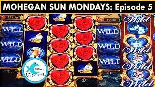 MOHEGAN SUN MONDAYS! This ship is not sinking! Titanic Heart of the Ocean Slot Machine