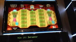 MIRROR REELS FAIRY BLOSSOM 2 CENT RE-TRIGGER SLOT MACHINE BONUS