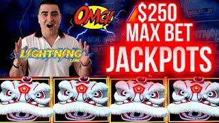 ⋆ Slots ⋆ $250 A Spin HANDPAY JACKPOTS On High Limit Lightning Link | WINNER 2021 ⋆ Slots ⋆