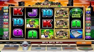 Monkeys Money Slot Machine Game