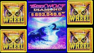 ⋆ Slots ⋆ALWAYS SO LUCKY ON NEW GAMES !!⋆ Slots ⋆NEW ! TIMBER WOLF DIAMOND Slot⋆ Slots ⋆$225 Free Play ⋆ Slots ⋆ HUGE WIN !! 栗スロ