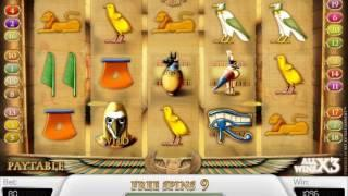 Secrets of Horus slots - 2,968 win!