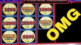 •MEGA BIG WIN•Lighting Link WILD CHUCO Slot Machine Max Bet Bonus Won |Better Than HANDPAY JACKPOT