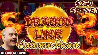 ⋆ Slots ⋆ $25,000+ Casino Jackpot Caught Live on Video! ⋆ Slots ⋆ High Limit Dragon Link Autumn Moon Major Jackpot!