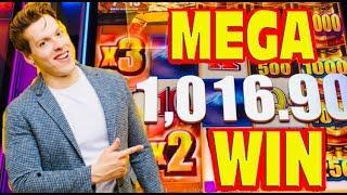 BIGGEST WIN ON BET SIZE! WILD WILD SAMURAI slot machine HUGE WIN!