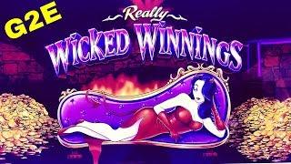 •G2E 2018• NEW Really Wicked Winnings Slot Machine PREVIEW w/NG SLOT | Global Gaming Expo 2018