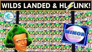 EPIC COMEBACK! BIG WINS on World of Wonka Slot Machine, Lightning Link, WOZ!