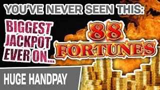 ⋆ Slots ⋆ My. Biggest. Jackpot. EVER… Playing 88 Fortunes! ⋆ Slots ⋆ You've NEVER Seen Something Like THIS