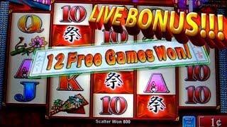 Matsuri Nights Bonus + Live Bonus&Play !!! 1c Konami Video Slots