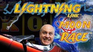 •3 BONUS ROUND$ •Lightning Link MOON RACE Slot WIN$ | The Big Jackpot