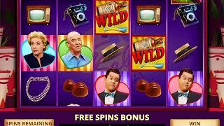 I LOVE LUCY Video Slot Game with an I LOVE LUCY FREE SPIN BONUS