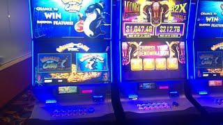 • LIVE CASINO GAMBLING w/ FAMILY & FRIENDS • BIG WINS Sizzling Slot Jackpots Machine Videos