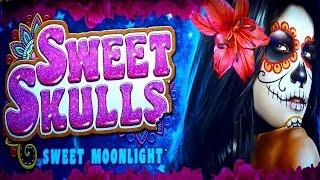 Sweet Skulls Sweet Moonlight Slot - MAX BET, NICE SESSION!