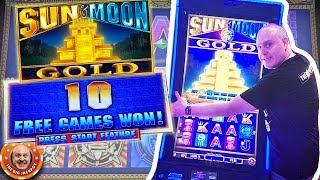 •NEVER BEFORE SEEN! •Up to $30 Bets on Sun & Moon Gold Slots! •