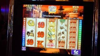 Rawhide Slot Machine Bonus Win (queenslots)