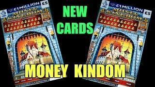 THE BIG SUNDAY SCRATCHCARD GAME...NEW..MONEY KINGDOM ..